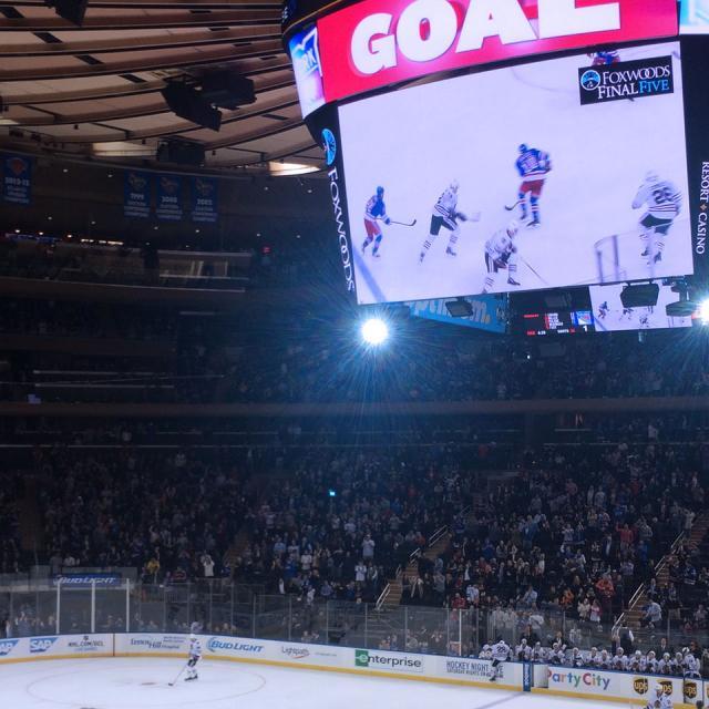 Tickets pour les Rangers de New York avec guide de l'équipe